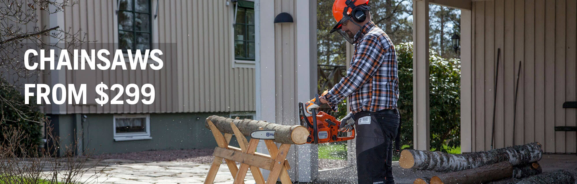 Spring Chainsaw